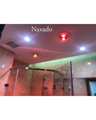Đèn sưởi 1 bóng nhà tắm Nav-6010