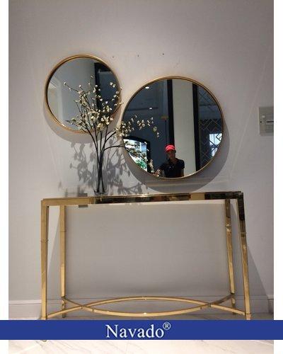 Gương phòng khách tròn Oras D800mm