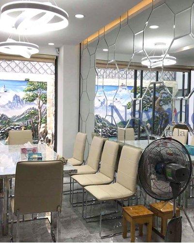 Gương nghệ thuật luxury bàn ăn phòng khách