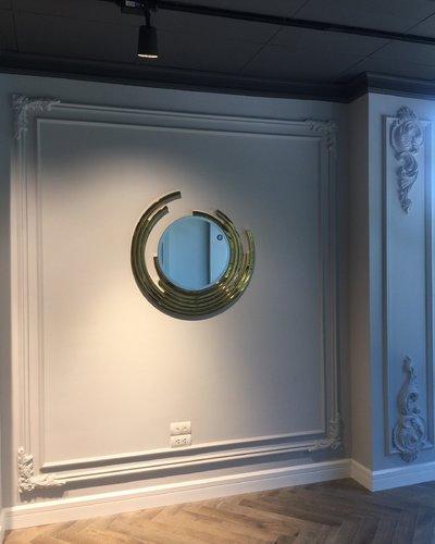 Gương trang trí phòng khách châu âu
