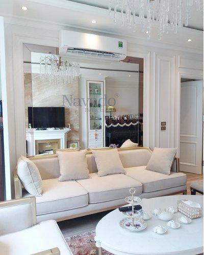 Gương trang trí phòng khách cao cấp Navado