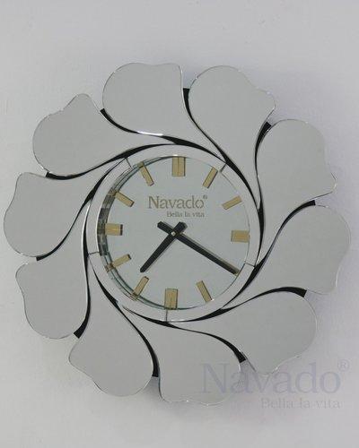 Đồng hồ treo tường phòng khách Mimosa