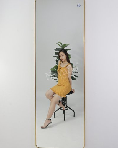 Gương toàn thân inox luxury