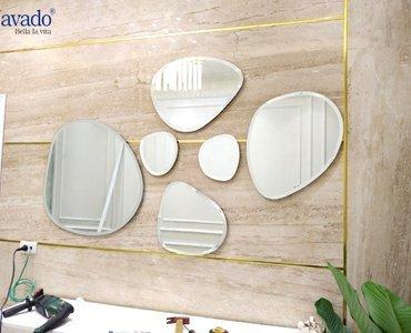 Gương trang trí phòng ăn biệt thự cao cấp