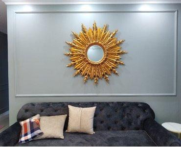 Gương đẹp cho không gian phòng khách luxury